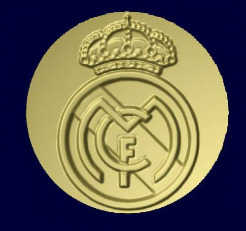 Free Real Madrid Logo(2) relief