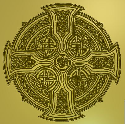 Fre relief, Celtic Cross2